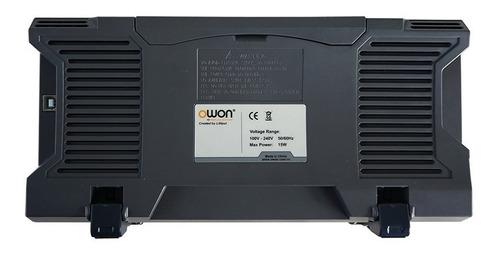 osciloscopio digital owon 100 mhz sds1102 color tft garantia