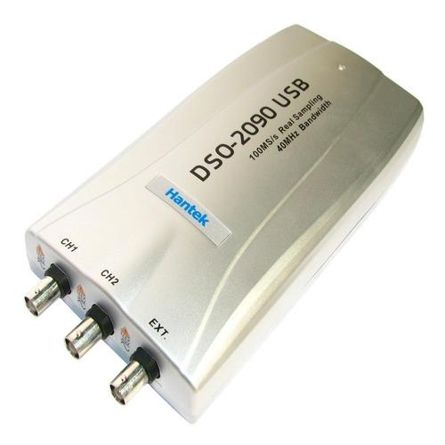 osciloscopio digital usb 40mhz hantek dso2090 ideal notebook