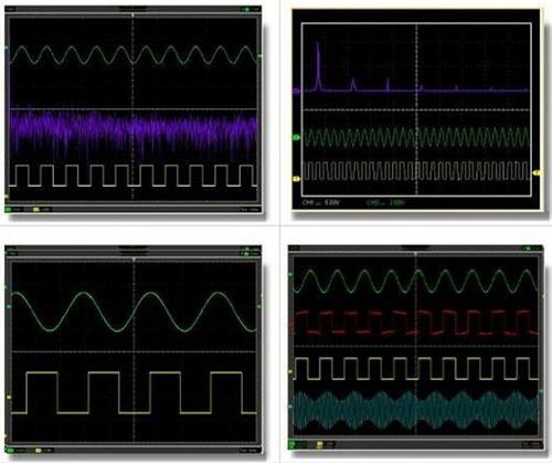 osciloscopio digital usb pc portátil  20mhz 2 canales hantek