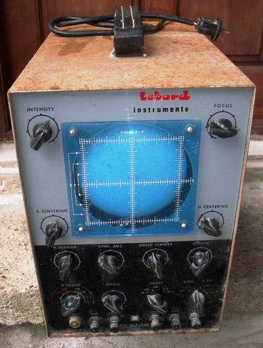 osciloscopio valvular - antiguo - marca lebord