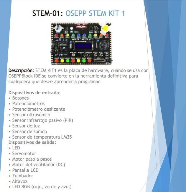 Osepp Stem Kit 1 Stem-01