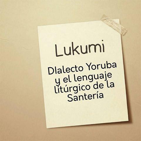 osha e ifa lenguaje del santero diccionario yoruba