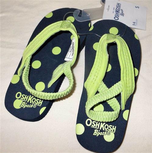 oshkosh b'gosh sandalias tam 20-21 novo original importado