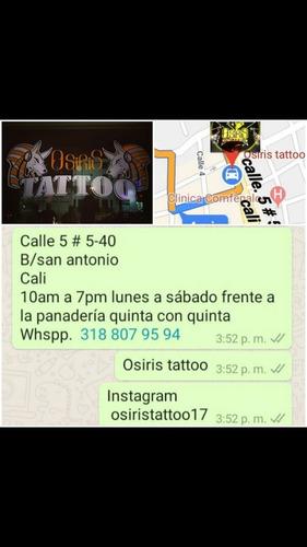 osiris tattoo trabajo profesional y garantizado