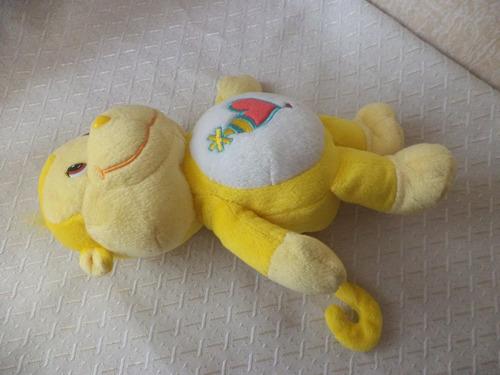 osito cariñosito mono amarillo