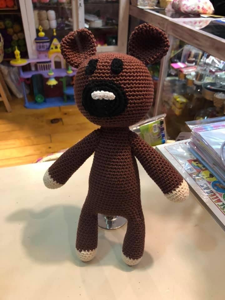 Mr Bean Style Teddy Bear » Knitting-and.com   960x720