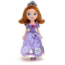 Peluche Princesa Sofia Muñeca 35cm Totalmente Nueva Juguete