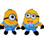 Peluches Minions El Par Ojos Rigidos 3d 20cm Juguetes Niño