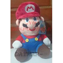 Peluche Mario Bros Y Luigi De 22 Cm