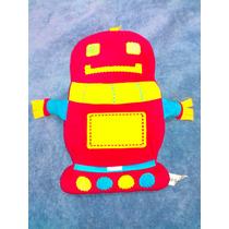 Peluche Infantil Robot Colorido De 39 Cm De Alto
