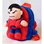 Mochila Superman Con Peluche Desmontable Super Héroe