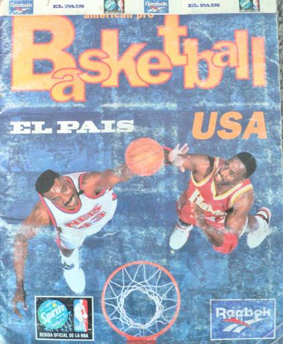osl album de figuritas basketball nba completo