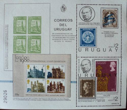 osl hojita 32 b sello uruguay rowland hill