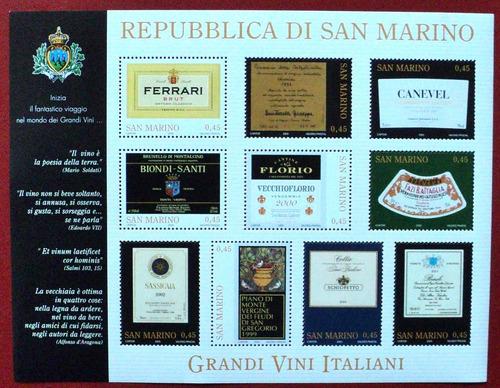 osl hojita sellos san marino grandes vinos 2005