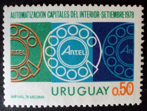 osl sello 1006 mint uruguay teléfono