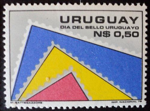 osl sello 1008 mint uruguay