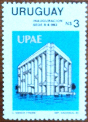 osl sello 1124 mint uruguay upae