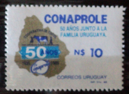 osl sello 1176  mint conaprole
