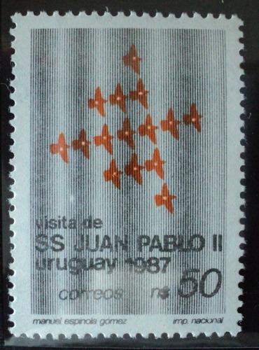 osl sello 1207 mint juan pablo ii religión