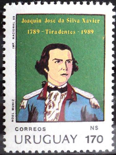 osl sello 1280 mint uruguay joaquin da silva