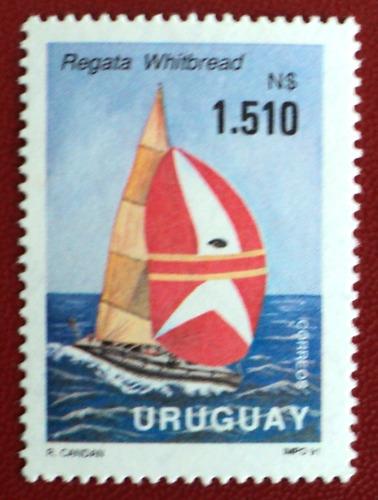 osl sello 1365 uruguay regata whitbread velero barco