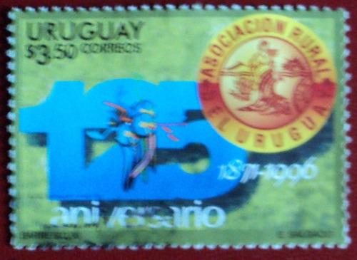 osl sello 1581 uruguay asociación rural