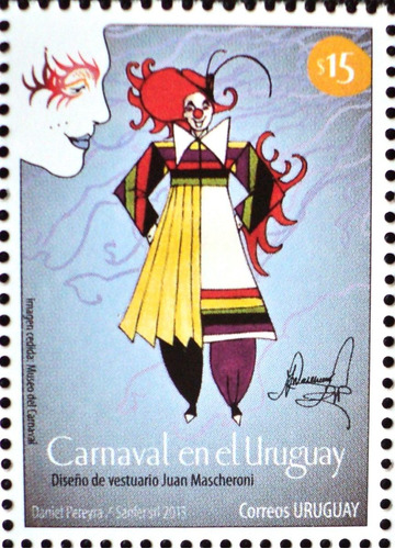 osl sello 2611 uruguay carnaval