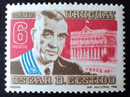 osl sello 773 mint uruguay gestido