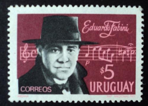 osl sello 806 nuevo uruguay fabini