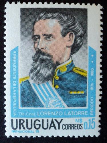 osl sello 932 mint uruguay latorre