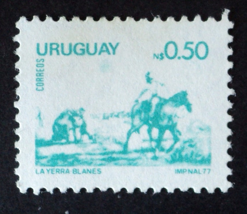 osl sello 996 mint uruguay blanes yerra