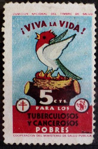 osl sello viñeta 5c viva la vida tuberculosis