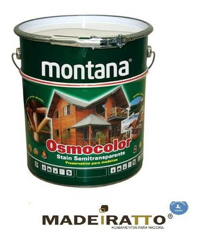 osmocolor stain natural uv gold - 18l