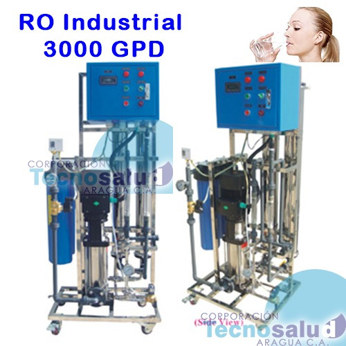 ósmosis inversa  3000 gpd