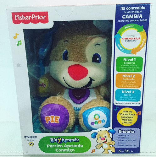 oso canta y aprende de fisher price