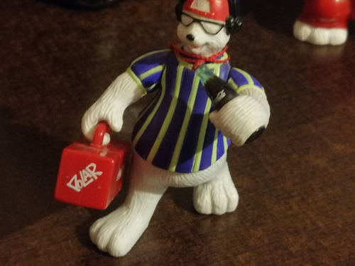 oso coca cola con su grabadora de coleccion