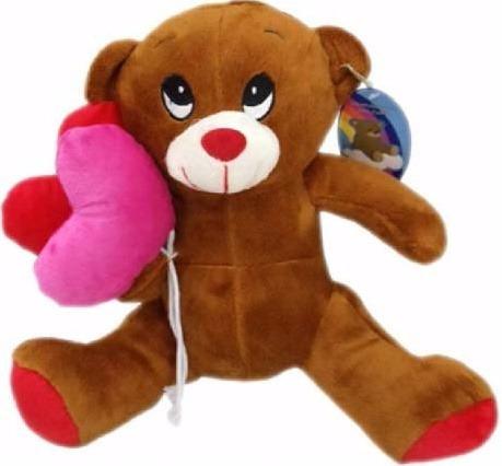 oso con globo 32 cm  el mejor regalo para regalar niños