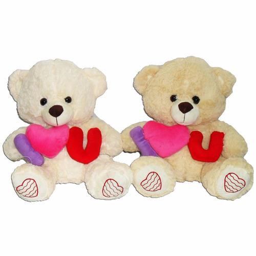oso con letra te amo 60 cm grande excelente para regalar