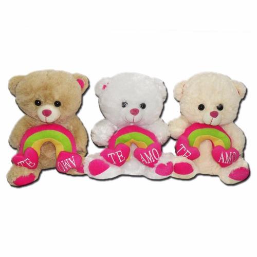 oso de arcoiris 40cm para regalar cumpleaños el mejor regalo