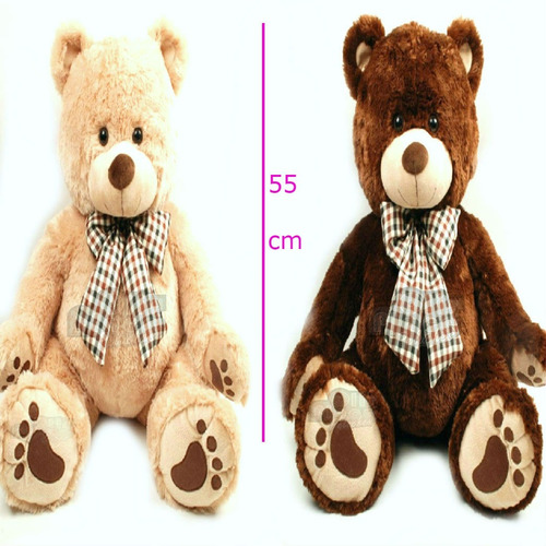 oso de peluche 1m total en l grande para enamorar en gigante