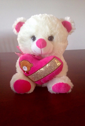 oso de peluche con sonido dice  i love you