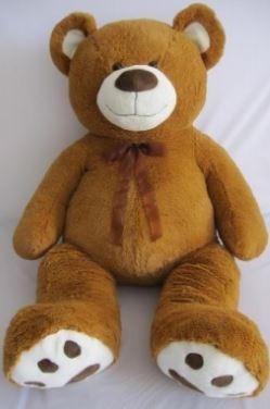 oso de peluche gigante 1.35 m !! envio gratis!!