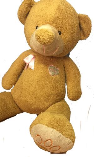 oso de peluche gigante 1,6m beige + corazon pers + envio