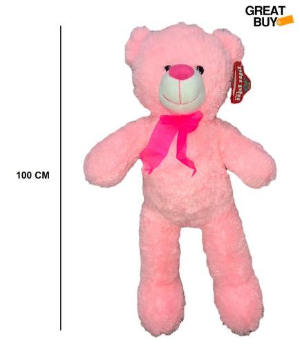 oso de peluche gigante 1mt sentado enamorados 7865