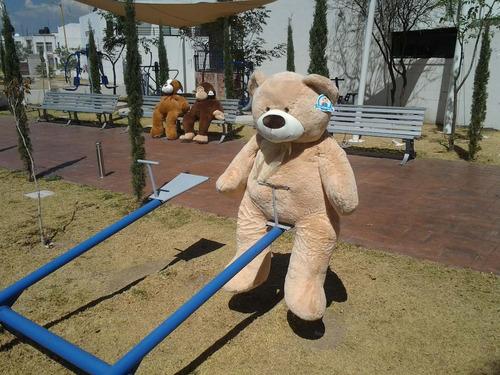oso de peluche gigante gordo 1.50 m