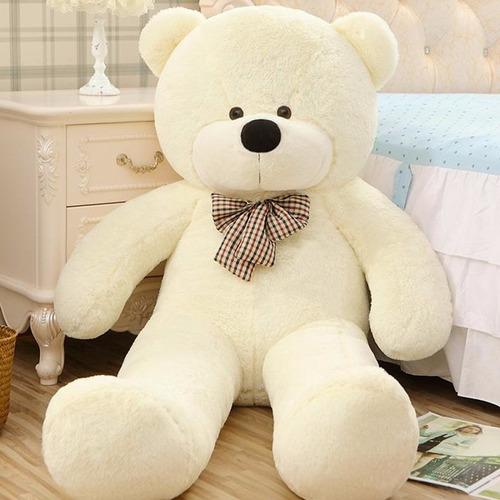 oso de peluche gigante grande 2 metros regalo amor felpa