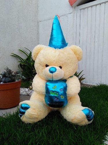 oso de peluche mago azul gigante 135 cms