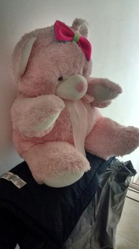 oso de peluche rosa gigante !!