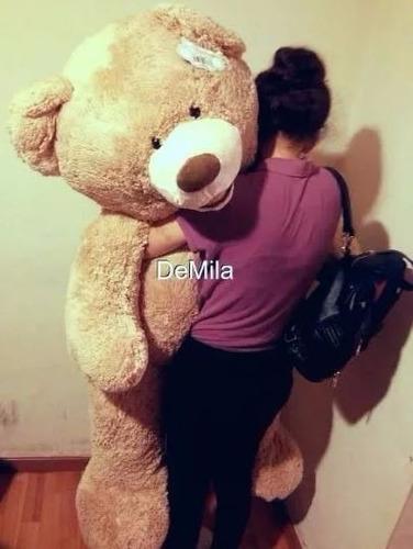 oso de peluche sonrisa gigante 1.60cm envio gratis!