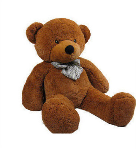 oso gigante 80 cms+envio gratis+esquela+bolsa rosada y moño
